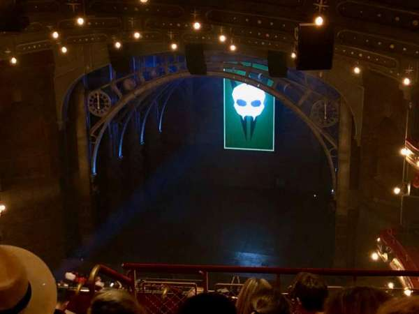 Lyric Theatre, Abschnitt: Balcony R, Reihe: G, Platz: 8