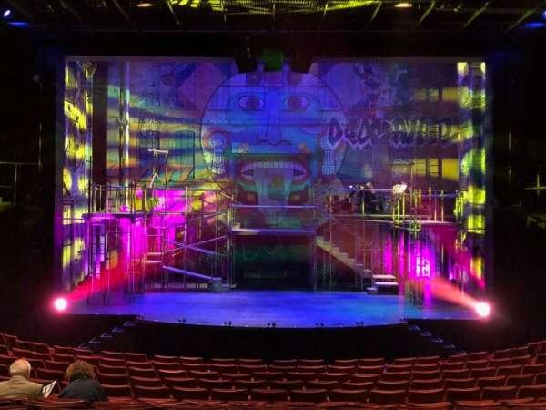 La Jolla Playhouse, Abschnitt: Main Floor, Reihe: O, Platz: 19