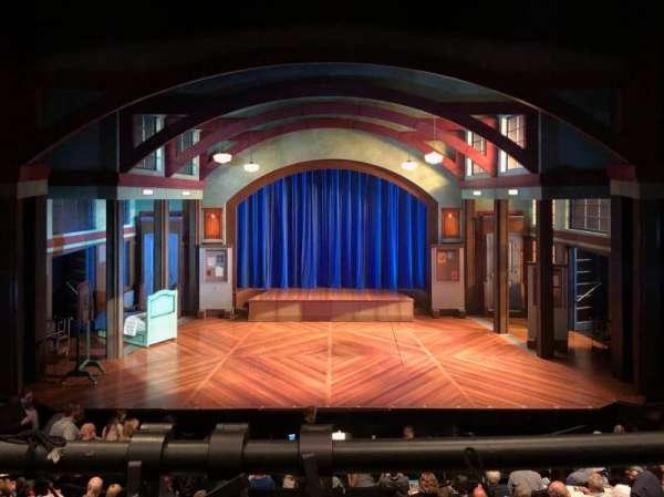 Coca-Cola Stage at Alliance Theatre, Abschnitt: Center Balcony, Reihe: A, Platz: 108