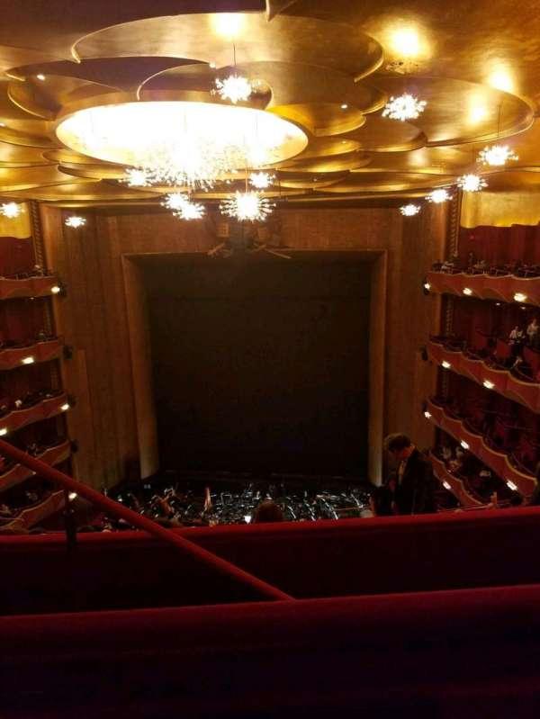 Metropolitan Opera House - Lincoln Center, Abschnitt: Family Circle, Reihe: B, Platz: 206