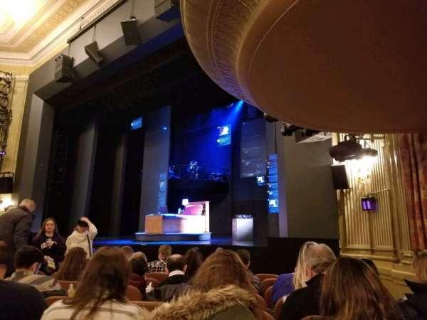 Music Box Theatre, Abschnitt: Orchestra, Reihe: J, Platz: 22