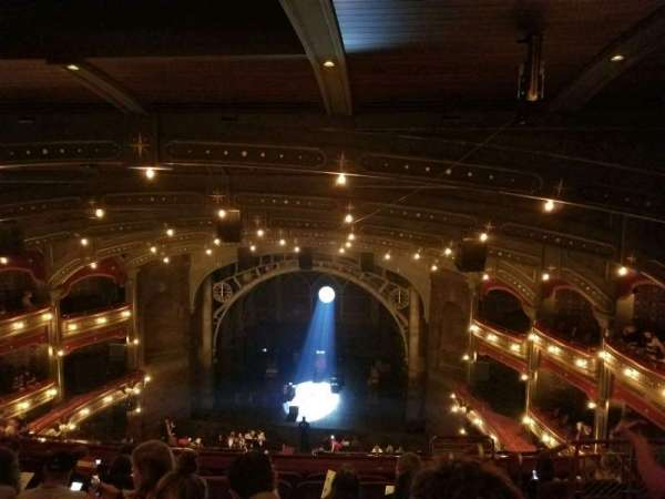 Lyric Theatre, Abschnitt: Balcc, Reihe: G, Platz: 117
