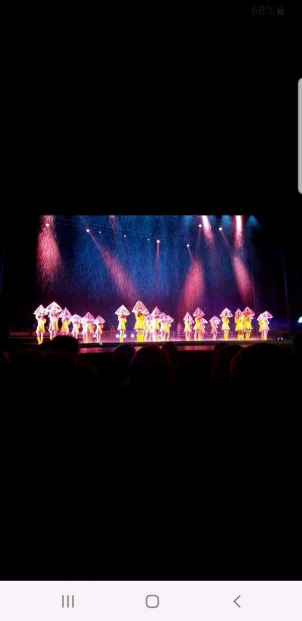 Radio City Music Hall, Abschnitt: Orchestra 5, Reihe: GG, Platz: 505