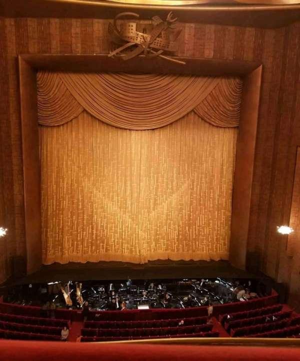 Metropolitan Opera House - Lincoln Center, Abschnitt: Balcony, Reihe: A, Platz: 109