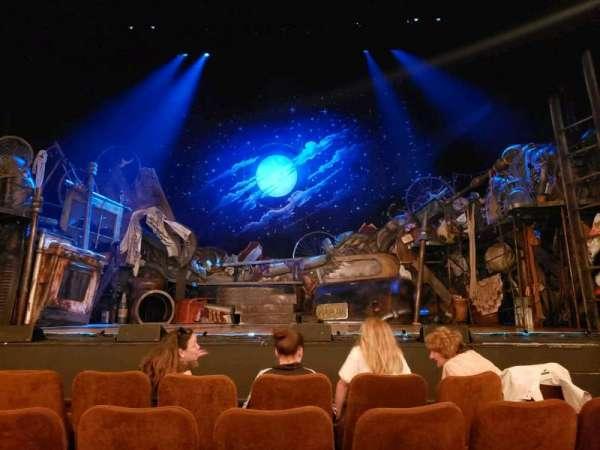 Forrest Theatre, Abschnitt: orch, Reihe: D, Platz: 105