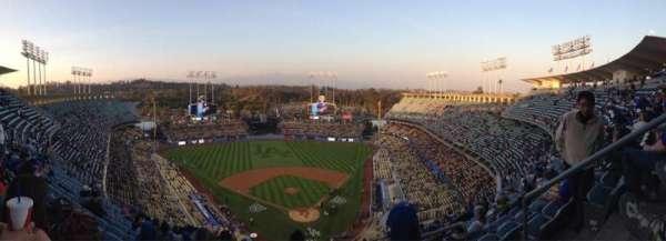 Dodger stadium, Abschnitt: Top Deck, Reihe: M, Platz: 5