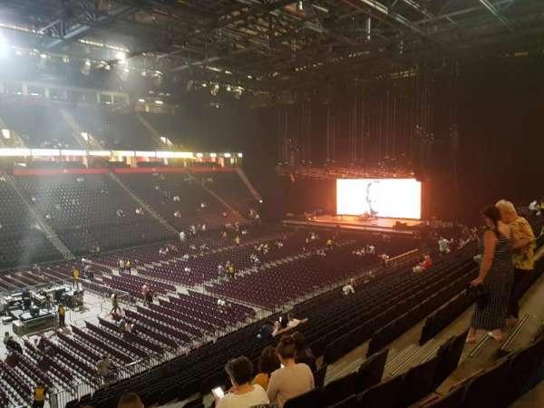 Manchester Arena, Abschnitt: 112, Reihe: X, Platz: 12