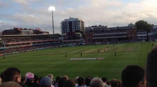 Lord's Cricket Ground, Abschnitt: 19, Reihe: T, Platz: 72