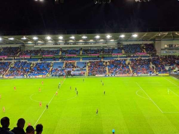 Cardiff City Stadium, Abschnitt: 513, Reihe: N, Platz: 72