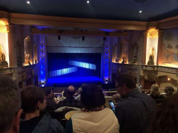 Egyptian Theatre (DeKalb), Abschnitt: Lower Balcony, Reihe: G, Platz: 25