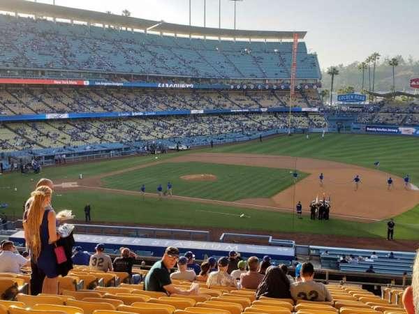 Dodger Stadium, Abschnitt: 138LG, Reihe: R, Platz: 5