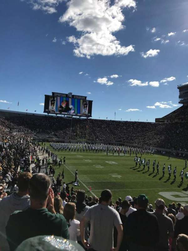 Spartan Stadium, Abschnitt: 3, Reihe: 23, Platz: 43