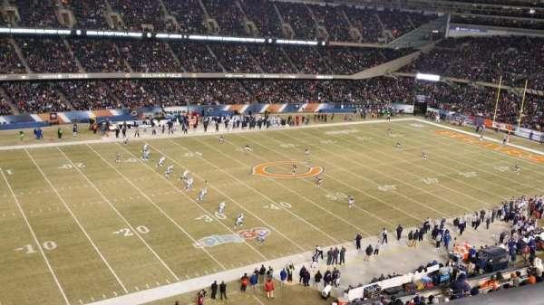 Soldier Field, Abschnitt: 441, Reihe: 1, Platz: 5