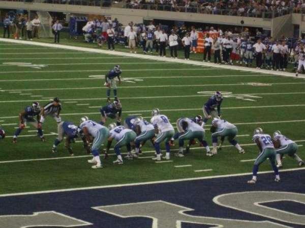 AT&T Stadium, Abschnitt: 148, Reihe: 3, Platz: 5