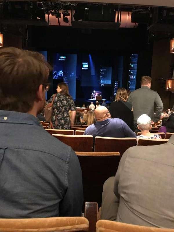 Ahmanson Theatre, Abschnitt: Orchestra, Reihe: V, Platz: 27