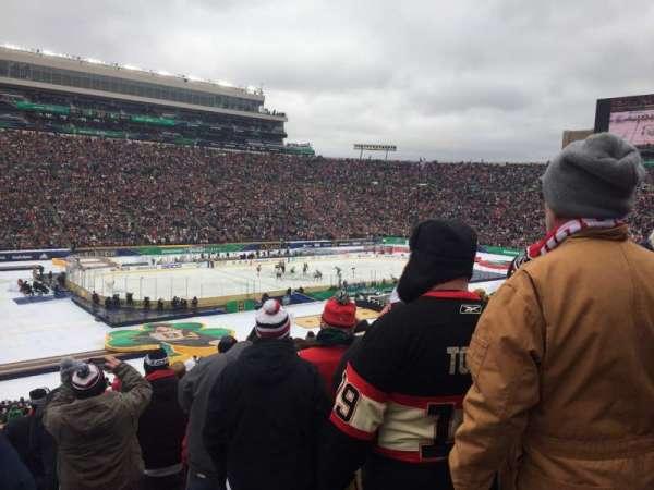 Notre Dame Stadium, Abschnitt: 32, Reihe: 53, Platz: 1