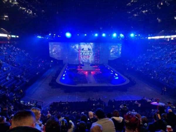 Manchester Arena, Abschnitt: 108, Reihe: X, Platz: 15