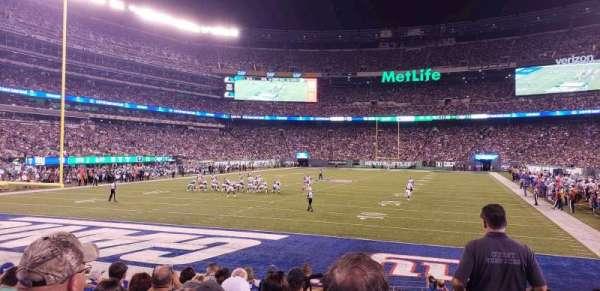 MetLife Stadium, Abschnitt: 149, Reihe: 10, Platz: 1