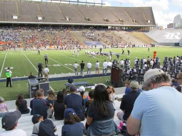 Rice Stadium, Abschnitt: 106, Reihe: 17, Platz: 10