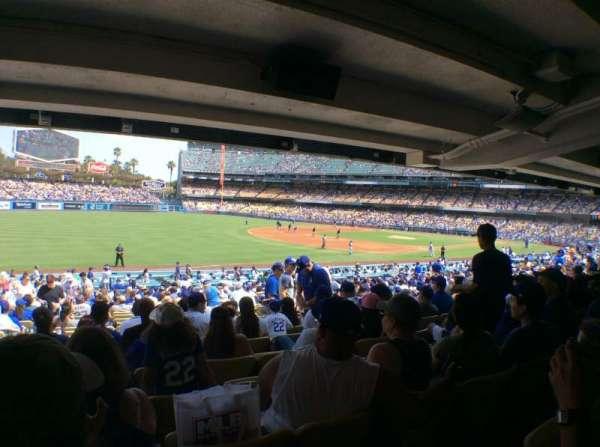 Dodger Stadium, Abschnitt: 41FD, Reihe: X, Platz: 8