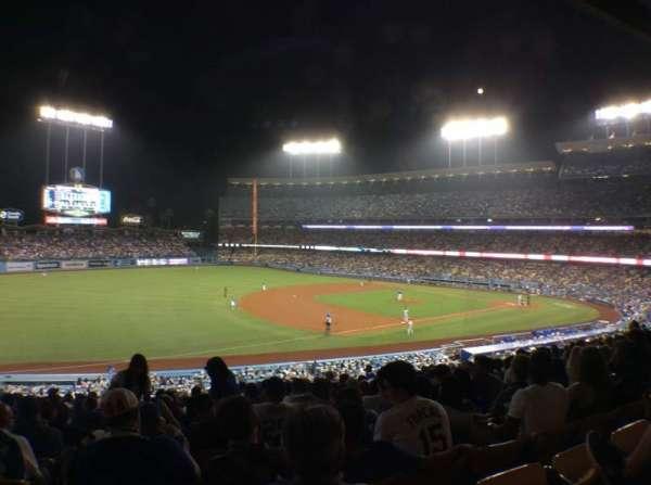 Dodger Stadium, Abschnitt: 147LG, Reihe: O, Platz: 8