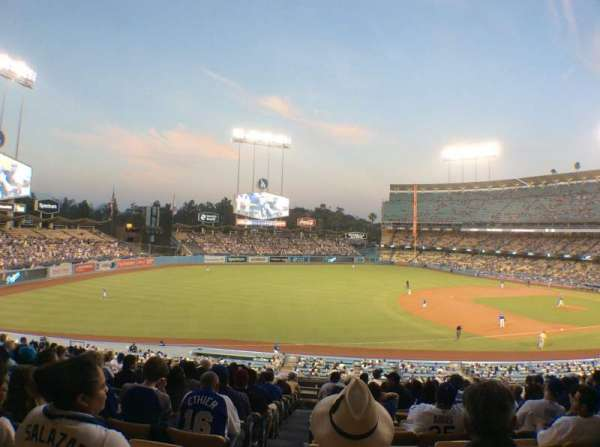 Dodger Stadium, Abschnitt: 146LG, Reihe: O, Platz: 8