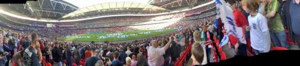 Wembley Stadium, Abschnitt: 122, Reihe: 22, Platz: 318