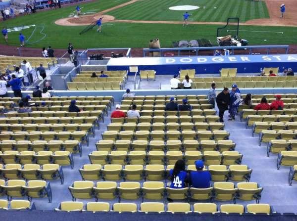Dodger Stadium, Abschnitt: 132LG, Reihe: A, Platz: 1