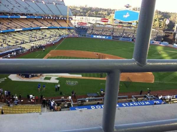 Dodger Stadium, Abschnitt: 10RS, Reihe: A, Platz: 19