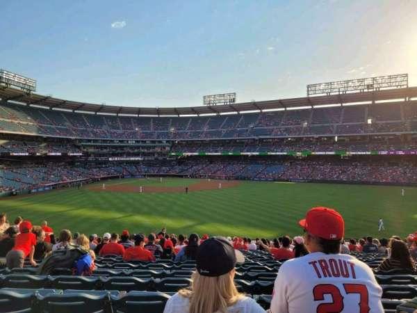 Angel Stadium, Bereich: 239, Reihe: Z, Platz: 7-9