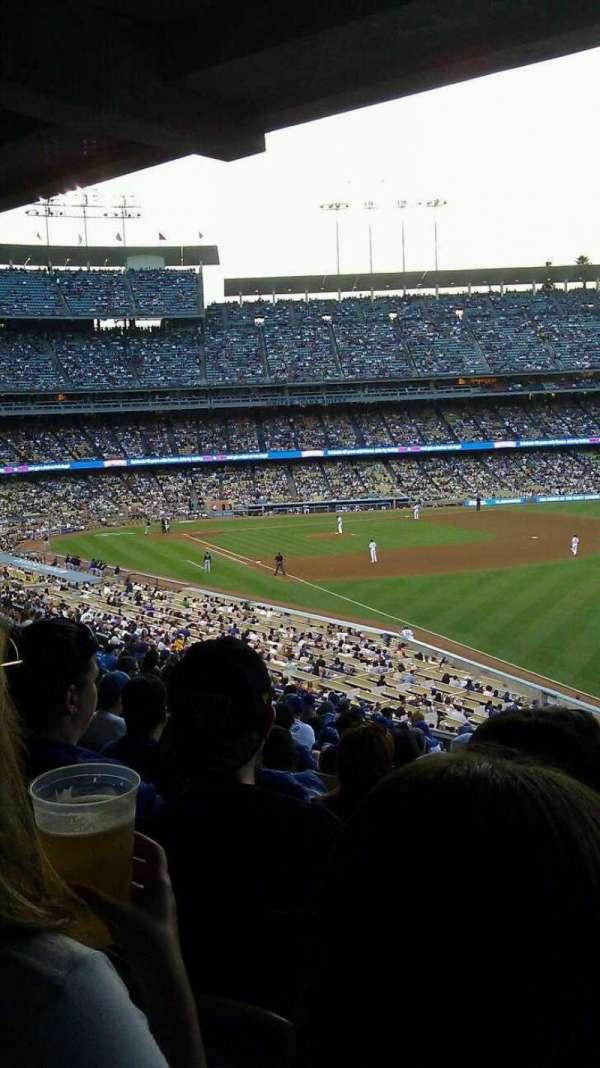 Dodger Stadium, Abschnitt: 162LG, Reihe: S, Platz: 8