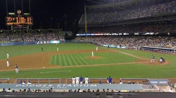 Dodger Stadium, Abschnitt: 131LG, Reihe: B, Platz: 3