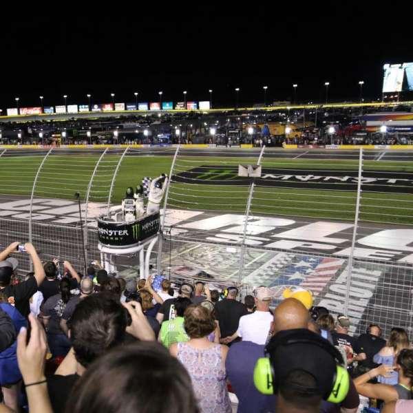 Charlotte Motor Speedway, Abschnitt: GM General Motors E, Reihe: 16, Platz: 25