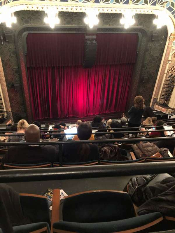 New York City Center, Abschnitt: Balcony, Reihe: H, Platz: 117