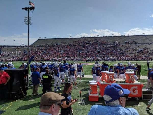 David Booth Kansas Memorial Stadium, Bereich: 6, Reihe: 3, Platz: 5