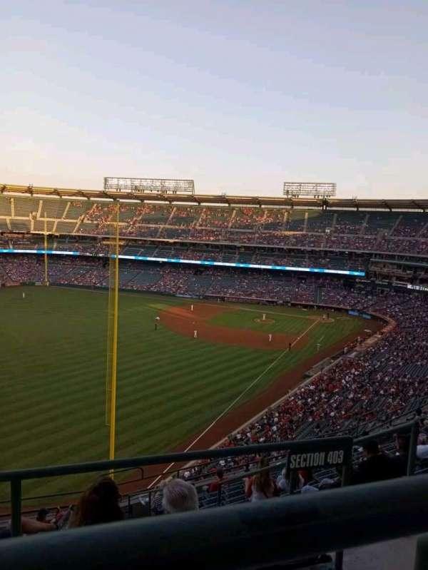 Angel Stadium, Bereich: 504, Reihe: A, Platz: 10