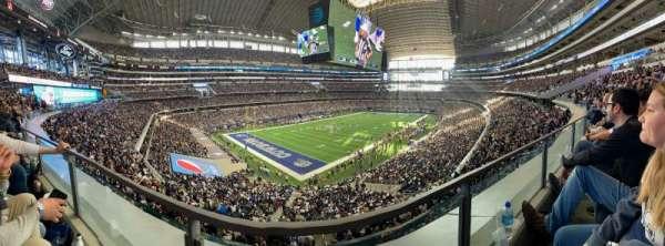 AT&T Stadium, Bereich: 343, Reihe: 1, Platz: 13