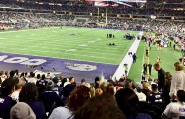 AT&T Stadium, Bereich: 121, Reihe: 21, Platz: 16