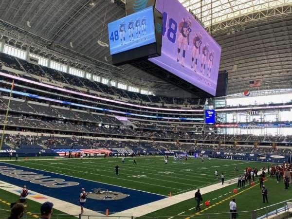 AT&T Stadium, Bereich: 144, Reihe: 10, Platz: 18