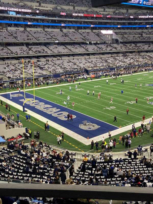 AT&T Stadium, Bereich: 343, Reihe: 1, Platz: 16