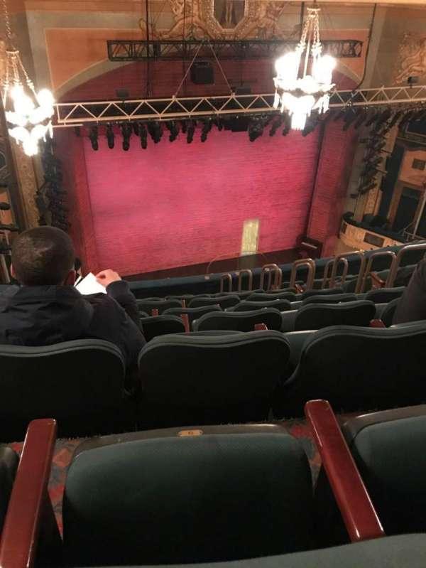 Shubert Theatre, Abschnitt: Balcony, Reihe: K, Platz: 9