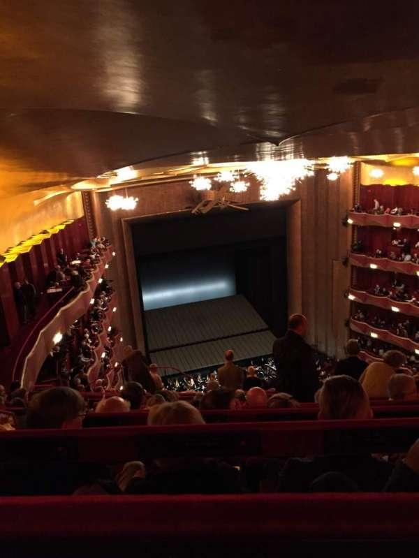 Metropolitan Opera House - Lincoln Center, Abschnitt: Family circle, Reihe: K, Platz: 233