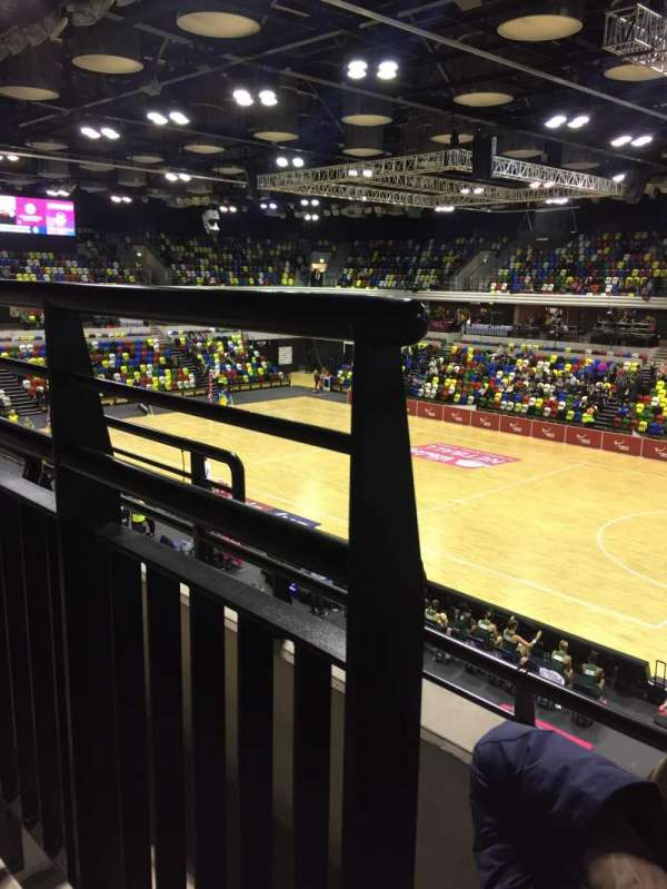 Copper Box Arena, Abschnitt: 210, Reihe: 12, Platz: 38