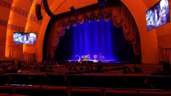 Radio City Music Hall, Abschnitt: Orchestra 2, Reihe: ZZ, Platz: 206