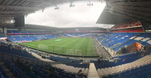 Cardiff City Stadium, Abschnitt: 122