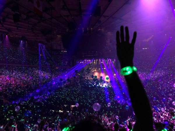 Madison Square Garden, Abschnitt: 103, Reihe: 19, Platz: 7
