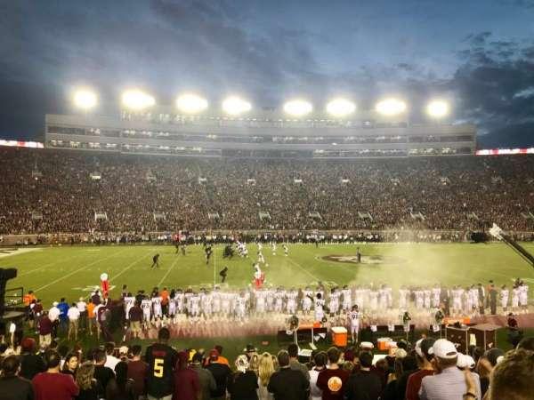 Bobby Bowden Field at Doak Campbell Stadium, Abschnitt: 11, Reihe: 19, Platz: 26