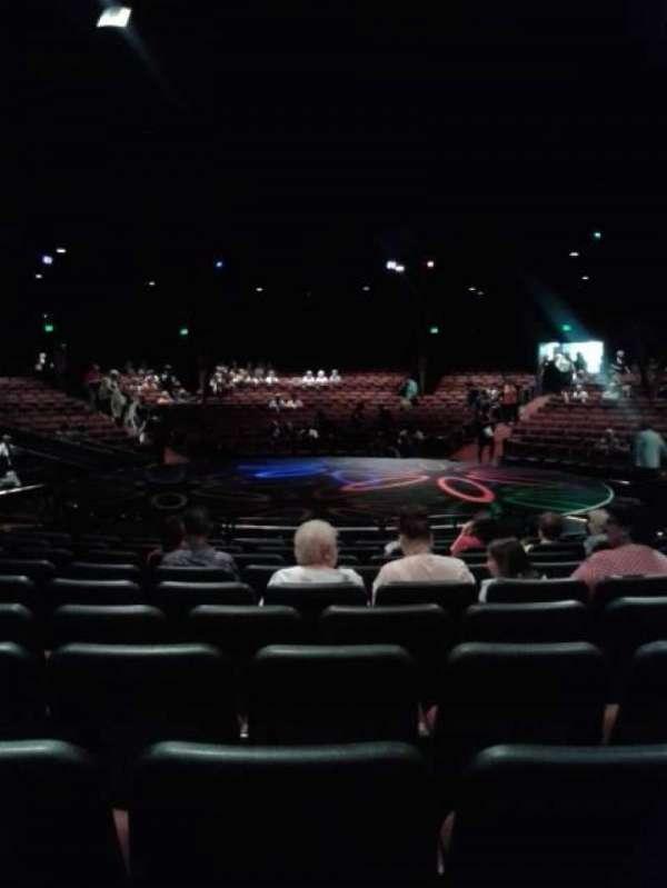 North Shore Music Theatre, Abschnitt: B, Reihe: L, Platz: 17