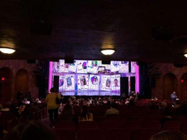 August Wilson Theatre, Abschnitt: Orchc, Reihe: W, Platz: 118