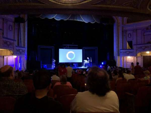 Merriam Theater, Abschnitt: Orch L, Reihe: S, Platz: 3